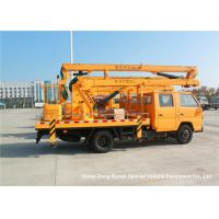 JMC 14-16m 4x2 Double Cabin Aerial Platform Truck For High Operation Working