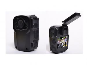 China Durable Waterproof Wearable Body Camera MP4 Format With 2.0 USB Port on sale