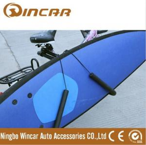 China Surfboard Transporting Kayak Roof Carrier , Anti-rust clip kayak car carrier on sale