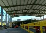 Heavy Duty Prefab Steel Structure Building Using Low Carbon Metal Frame