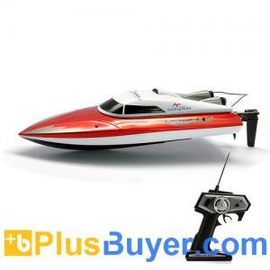 China Slice of Life - RC Speed Boat (30Km/h, 8G Servo, 50 Meter Range) on sale