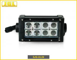 China 24w Double Row LED Light Bar 4 X 4 For Off Road Car / 6 Inch Led Light Bar on sale