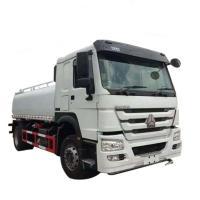 China Sinotruk Brand 4x2 Liquid Tanker Truck Diesel Fuel Engine Manual Transmission on sale