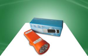 China Eco - Friendly Solar Powered Products Portable Solor Power Flashlight / Torch on sale