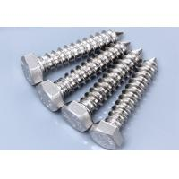 Galvanized Half Thread Tainless Steel Coach Screw For Timber Construction 60mm 80mm