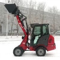 WL160 wolf loader with EPA tier 4 engine, View tire 4