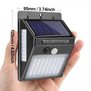 China Waterproof Motion Security Led Light Solar Powered 8 Hours Using Time on sale