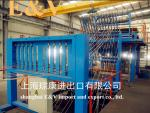 14.4mm Upward Continuous Casting Machine 4000Mt With Automatic Adjustment