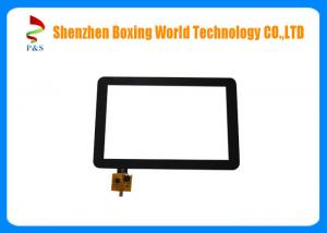 China Multi Touch Capacitive Touch Panel 10.1inch 10pins IIC Interface Fast Response Time on sale