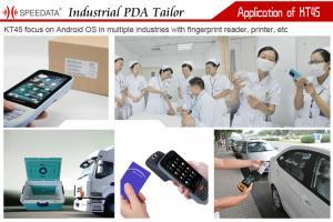 Rfid Nfc Smart Card Handheld Fingerprint Scanner With
