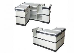 China Modern Cash Register Checkout Counter With Firm And Stable Structure on sale