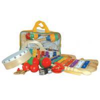 Plastic Bag Kids Musical Instrument , 10 Pieces Mini Percussion Set