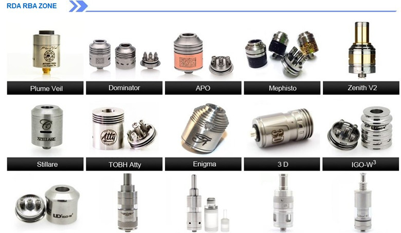 New Coming Stainless Stingray Mechanical Modstillare Clone Atomizer