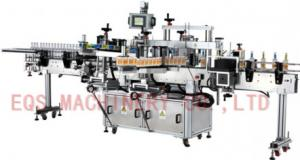 China Front Back Neck Three Labels Self Adhesive Sticker Labeling Machine 50-60 HZ 3PH on sale