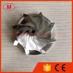 TD04 50.00/67.00mm 8+0 blades Point milling high performance Turbocharger Billet/milling/aluminum 2618 compressor wheel