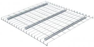 China 50x50 Wesh U Channel Wire Mesh Decking For  Pallet Racking High Security on sale