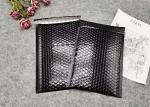 Metallic Foil Black Bubble Wrap Shipping Envelopes Waterproof Custom Logo