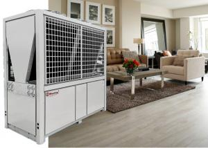 China 72KW Heat Pump Air Conditioning , Indoor Heating Hotel Airport Air Source Heat Pump System on sale