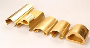 China Extruded copper alloy sections of stairs handrail on sale