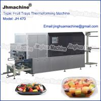 Plastic Trays/food box theromoforming machine/with lower power consumer and smart control