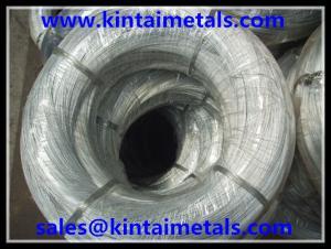 China 0.7mm 10kgロールは構造のための結合ワイヤーに電流を通しました on sale