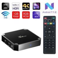 4K Smart TV Box  X96 Mini Android 7.1 OS , Android Set Top Box 2GB 16GB Amlogic S905W Quad Core