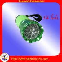Rubber 14 LED Torch