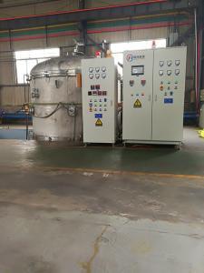 China Horizontal Vacuum Induction Melting Furnace With PLC Automatic Control on sale