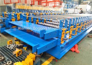 China Double Layers Roofing Sheet Roll Forming Machine / Corrugated Sheet Making Machine on sale