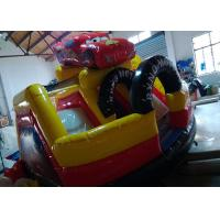 Toddler Playground Inflatable Bouncer Combo Air Inflated Car Jumping Bouncer Slide