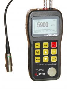 China Plastic Non Destructive Testing Equipment , ultrasonic thickness tester  TG-3300 on sale