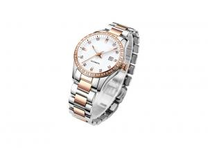 China Female Stainless Steel Automatic Watch 5 ATM Water Resistant  Super Luminous on sale