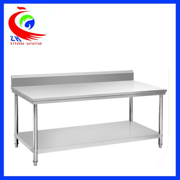 Rolling Stainless Steel Work Table / commercial kitchen prep tables ...