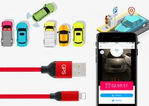 China 2018 new developed multifunction Intelligent GPS Positioning Data Cable GPS usb Cable For iphone on sale