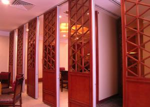 China Room Dividers Hanging Sliding Door Operable Wall For Banquet Wedding Facility on sale