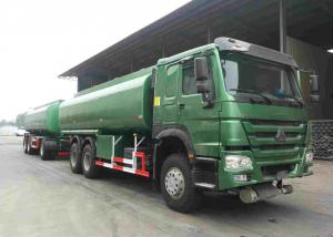 China 30000 Litres Oil Tank Trailer Color Customized For Petrol / Diesel / Jet Fuel on sale