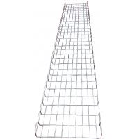 Industrial electrical flexible wave steel basket wire mesh trays system, 450*50mm