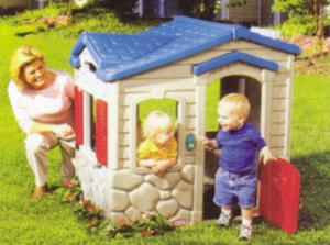 China Magic Bell Log Cabin Cubby House Design for Childrens Play on sale