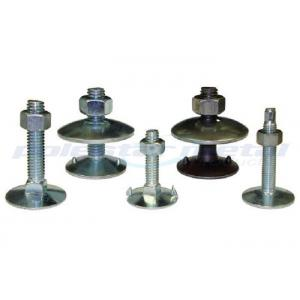 China Grade 6.8 Carbon Steel Flat Countersunk Head / Fanged Elevator Bolts DIN 934 on sale