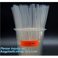 PLA drinking straws made of cornstarch, 100% biodegradable , protecting environment will substitute traditional polyprop