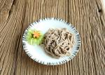 Halal Dry Japanese Buckwheat Soba Noodles Healthy 99% Fat Free Brown Color