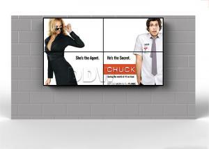 China Samsung 46 Inch supermarket 2x2 4k LCD video wall display support HDMI / VGA / DVI signals on sale