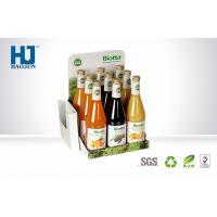 Advertising Cardboard Cardboard Display Boxes For Beverages / Fruit Juice