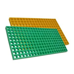 China Walkway Anti - Slip FRP Grating Panels , Fiberglass Bar Grating With UV on sale