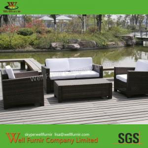 China Supply Living Room Sofa, Sectional Sofa, Rattan Wicker Sofa, Chinese Manufacturer on sale