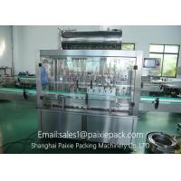 High Precision Automatic Liquid Filling Equipment With Pneumatic Driven