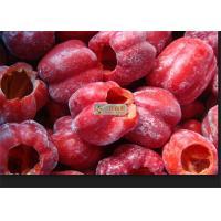China Bulk Organic Frozen Vegetables Bell Pepper Strips / Sliced Frozen Red Capsicum on sale