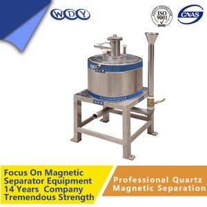 China Powerful Laboratory Density Magnetic Iron Ore Separator Assembly on sale