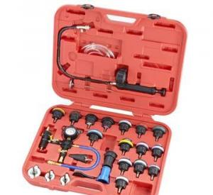 China 26pcs Radiator Pressure Tester & Vacuum Type Cooling System Kit on sale