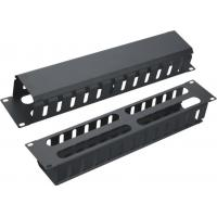 Ethernet Network Cable Management Bars for Home or Office Grey / Black